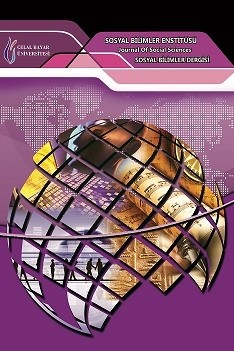 Manisa Celal Bayar Üniversitesi Sosyal Bilimler Dergisi