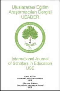 Uluslararası Eğitim Araştırmacıları Dergisi