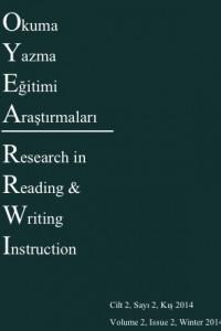 Okuma Yazma Eğitimi Araştırmaları