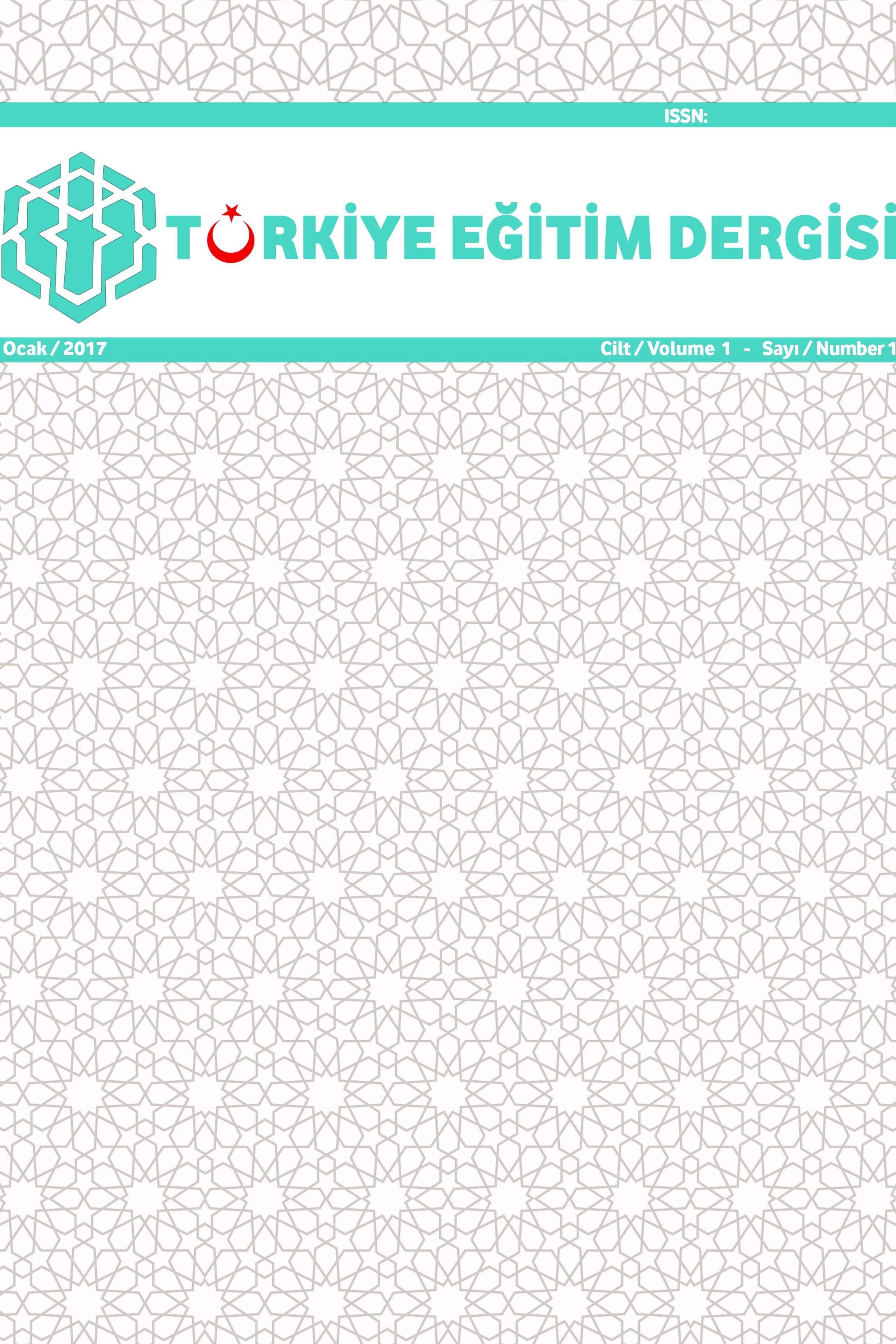 Türkiye Eğitim Dergisi