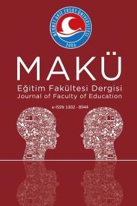 Mehmet Akif Ersoy University Journal of  Education Faculty