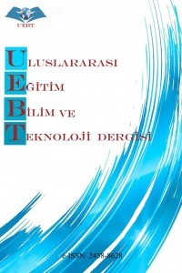 Uluslararası Eğitim Bilim ve Teknoloji Dergisi
