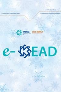 e-Kafkas Eğitim Araştırmaları Dergisi